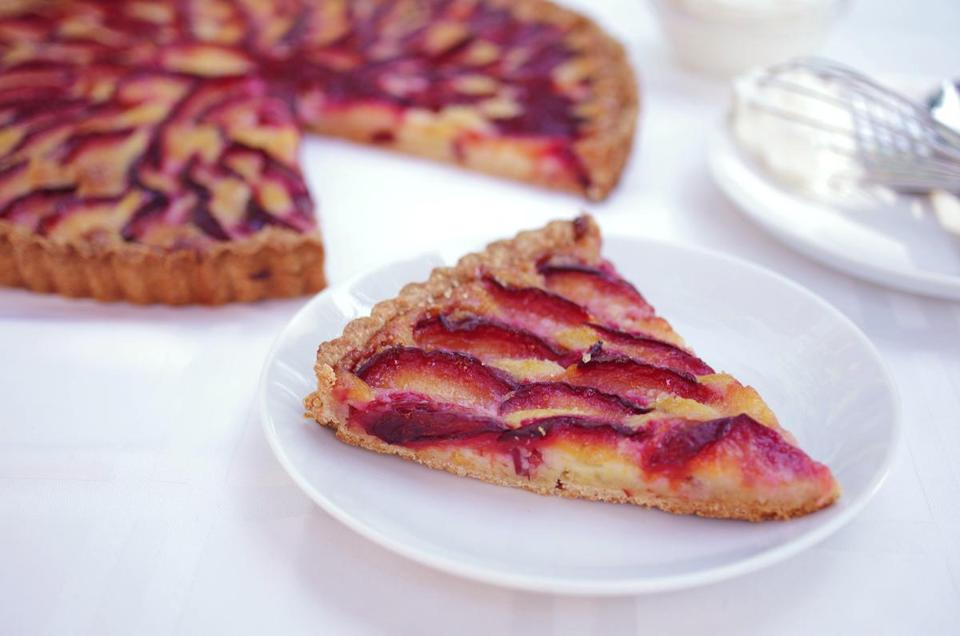 Plum And Frangipane Tart Recipe Recipe For Plum Frangipane