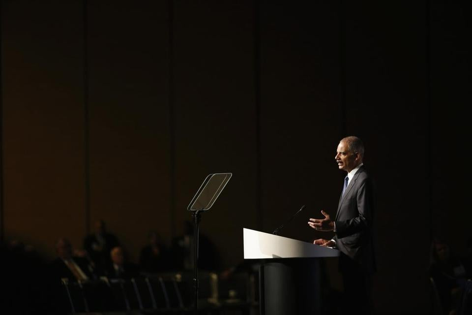 US Attorney General Eric Holder announced the new policy during the annual meeting for the American Bar Association.