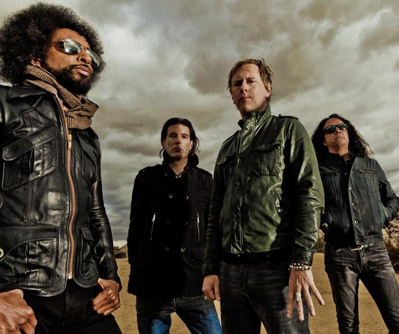 Alice in Chains performs at the Uproar Festival Aug. 14.