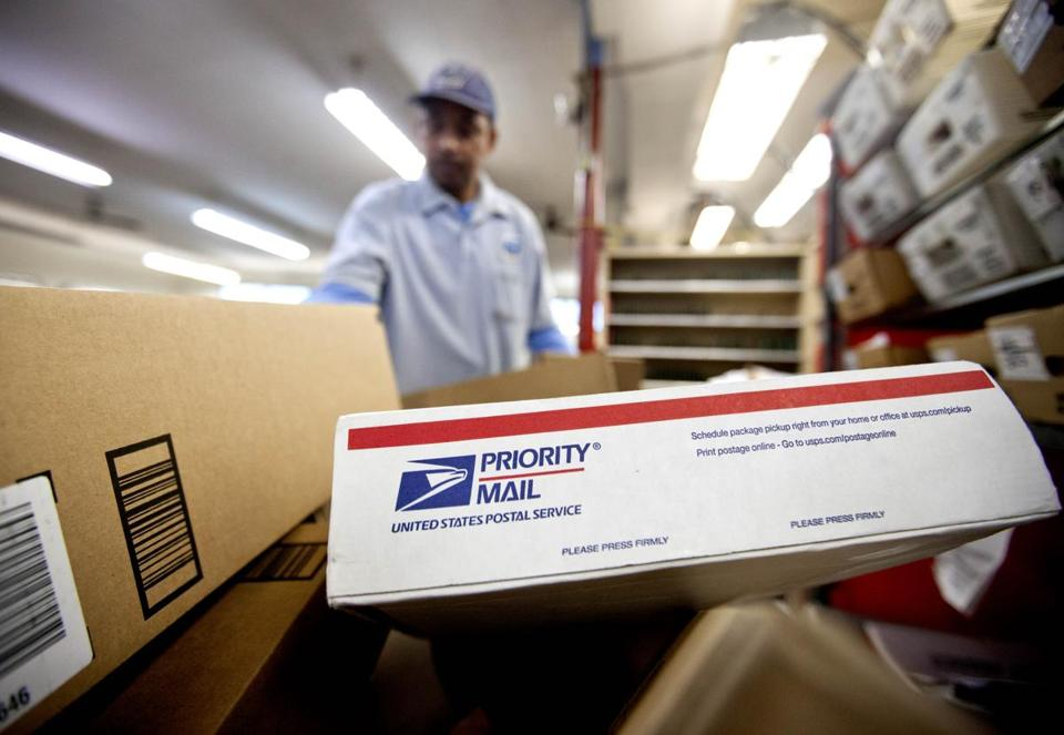 The Postal Service is targeting the lucrative business of shipping products purchased from online retailers.