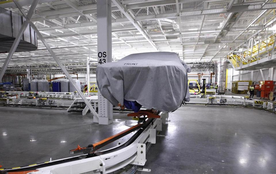 A Chrysler plant in Sterling Heights, Mich. The Commerce Department reported no change in wholesale prices in July.