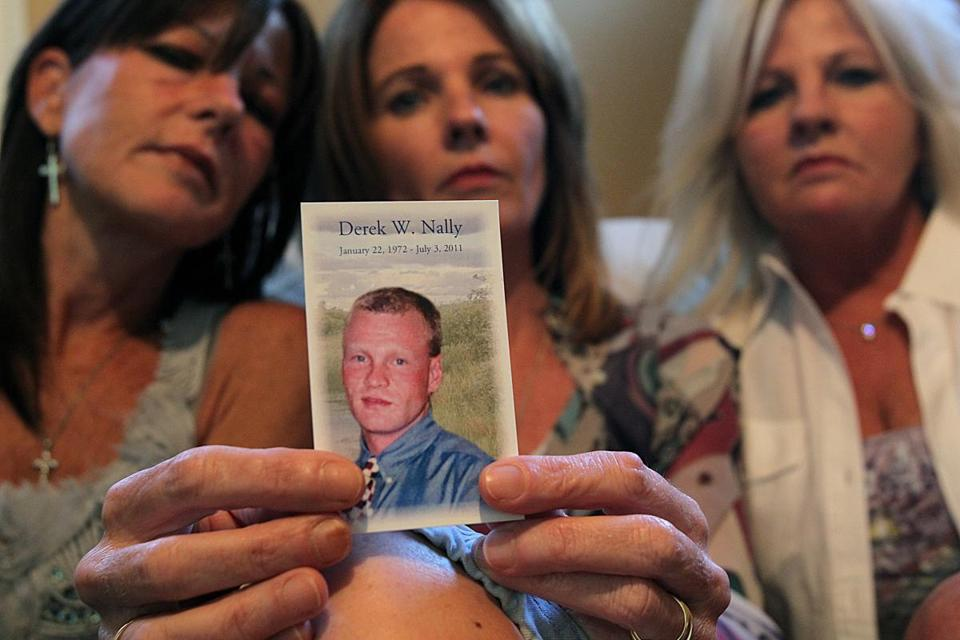 Derek Nally's sisters Cathy Brennan, Susan Giugno, and Cheryl Wolfe want answers in his death. Arbour staff waited to try to revive him, officials say.