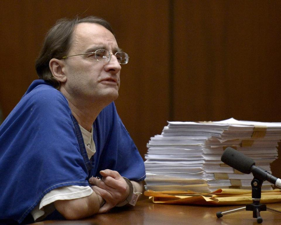 Christian Karl Gerhartsreiter spoke to the judge during his murder sentencing in Superior Court in Los Angeles.