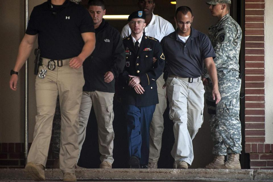 Private First Class Bradley Manning said he hopes to someday earn a college degree.