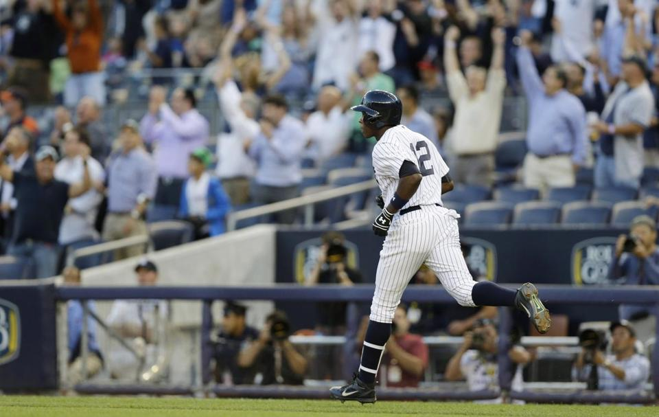 Alfonso Soriano had another monster night, belting two homers and driving in seven. He has 13 RBIs in his last two games.