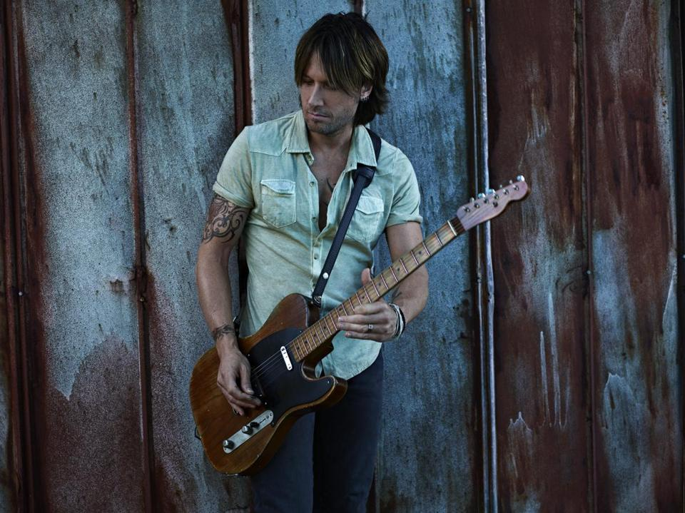 """I just like all kinds of tempos, grooves, themes, styles, and sounds, and they all go together to make up whatever it is that I do,"" said Keith Urban."