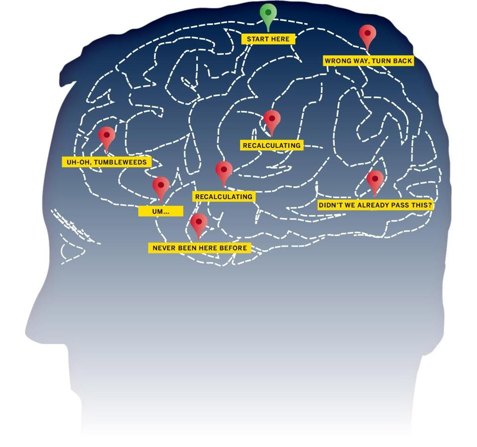 do our brains pay a price for gps the boston globe