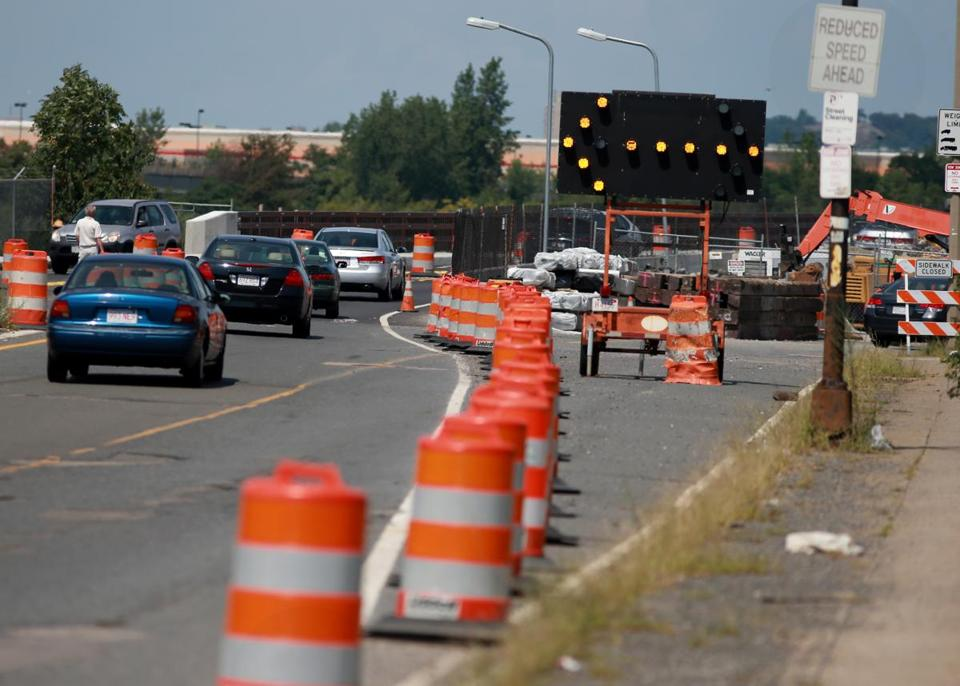 State officials say work on the $51.5 million bridge project on Route 99 is expected to be completed in July 2014.