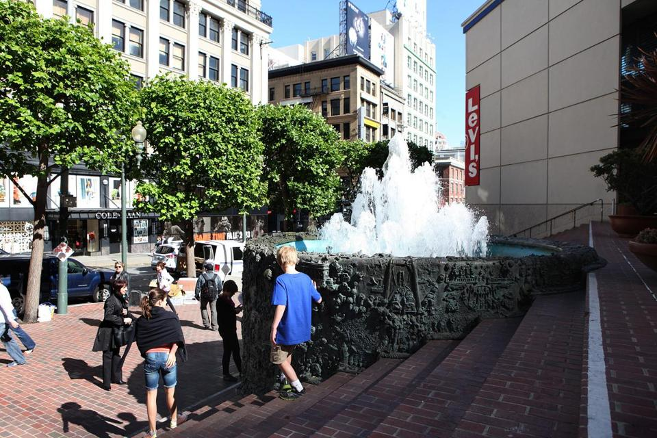 "Ms. Asawa became known in San Francisco as the ""fountain lady'' for her designs."