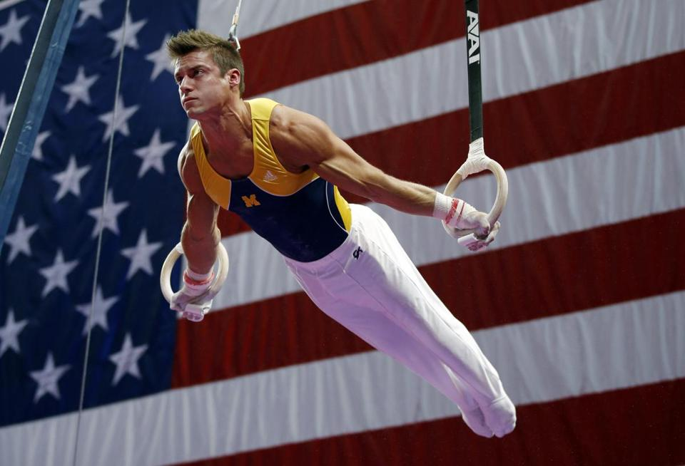 A complacent Sam Mikulak was still enough to capture the US men's all-around title.