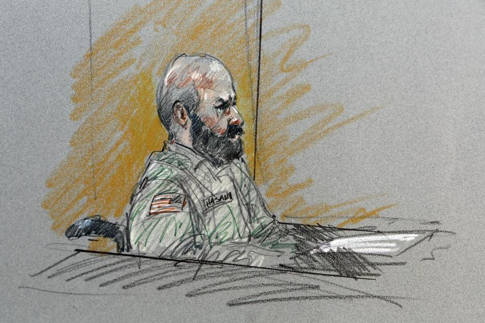 The judge said prosecutors cannot cite Major Nidal Hasan's interest years ago in conscientious objector status.