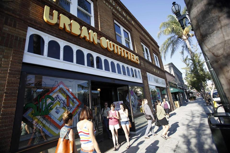 Urban Outfitters reported record second-quarter net income of $76 million.