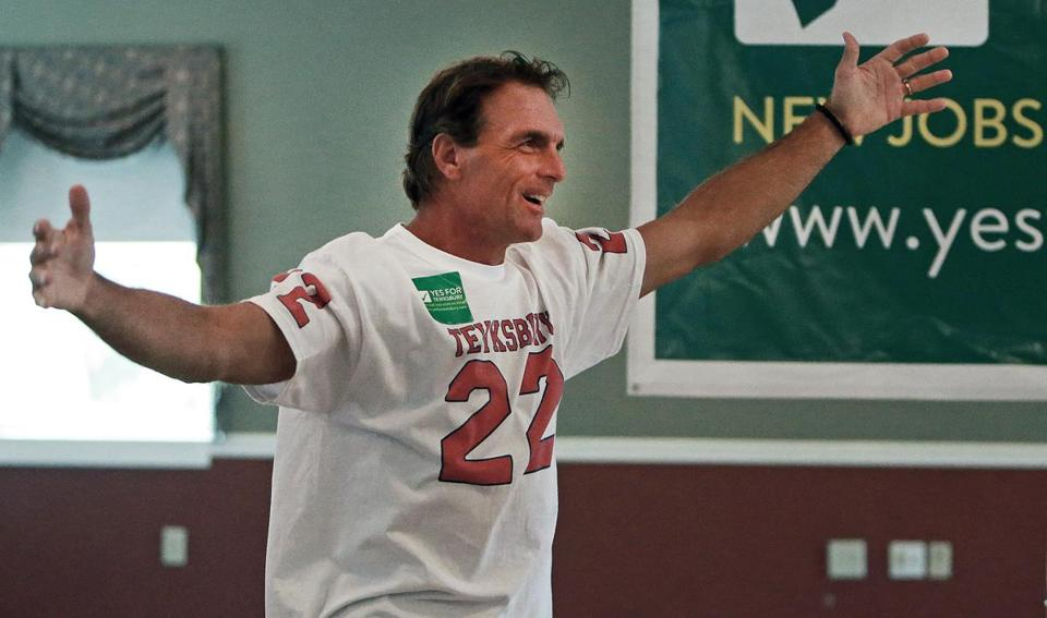 Doug Flutie says he doesn't like to make a big deal about what he did on the field.