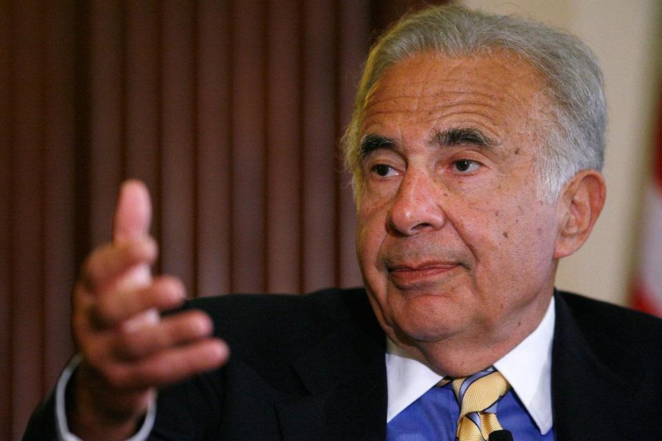 Carl Icahn (above) holds a 16 percent stake in Nuance.
