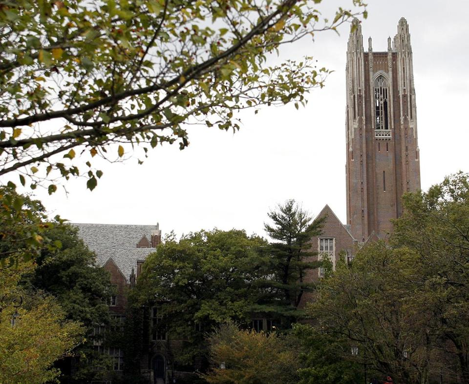 The campus of Wellesley College.