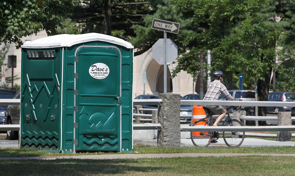 A working group will explore where a permanent public restroom could be built in the area of the Cambridge Common.