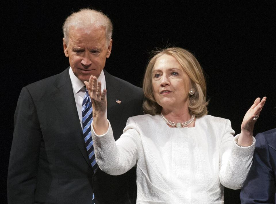 A battle between Vice President Joe Biden and Hillary Clinton could rival the 2008 presidential race.