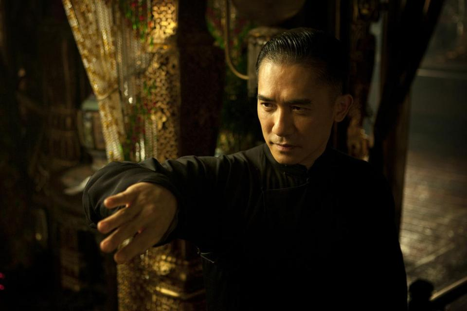 "Tony Leung as Ip Man in ""The Grandmaster."""