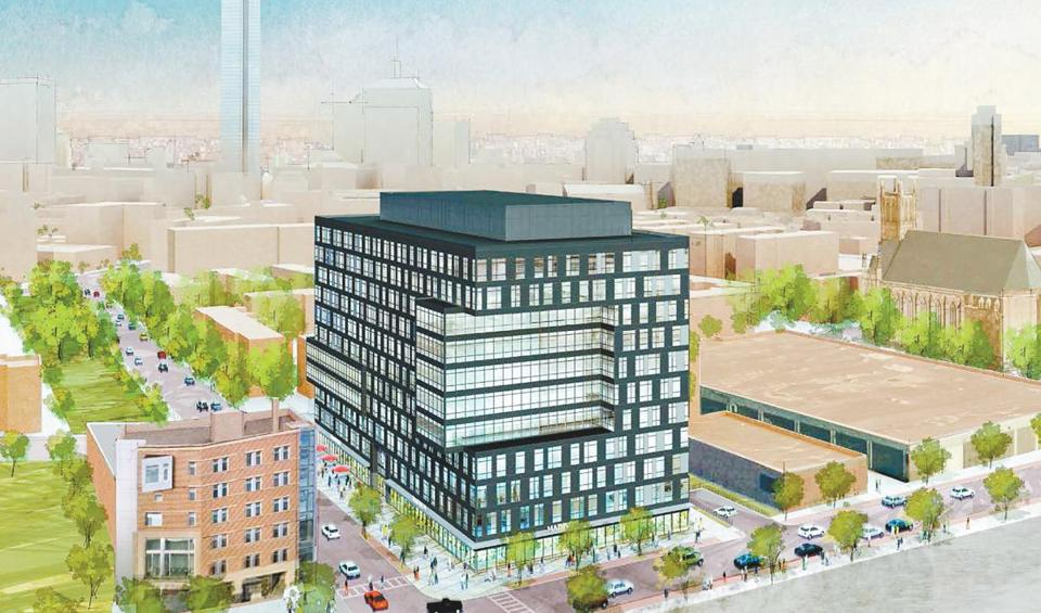 Druker Co. has proposed an 11-story office and retail building at 80 Berkeley St. in the South End.