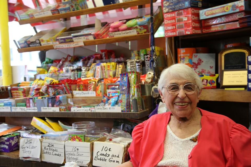 Ethel Weiss has been running the toy shop since 1939.