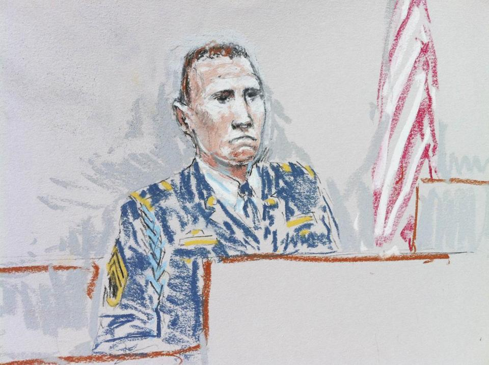 Staff Sergeant Robert Bales testified on Thursday before a military jury that is considering his sentence.