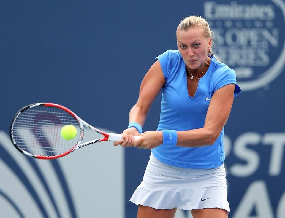 Petra Kvitova advanced by beating Anastasia Pavlyuchenkova.