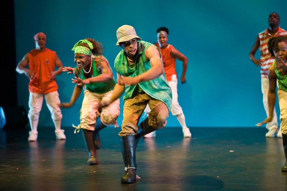Step Afrika!, presented by Arts Emerson: The World on Stage, performs at the Cutler Majestic Theatre Nov. 7-9.