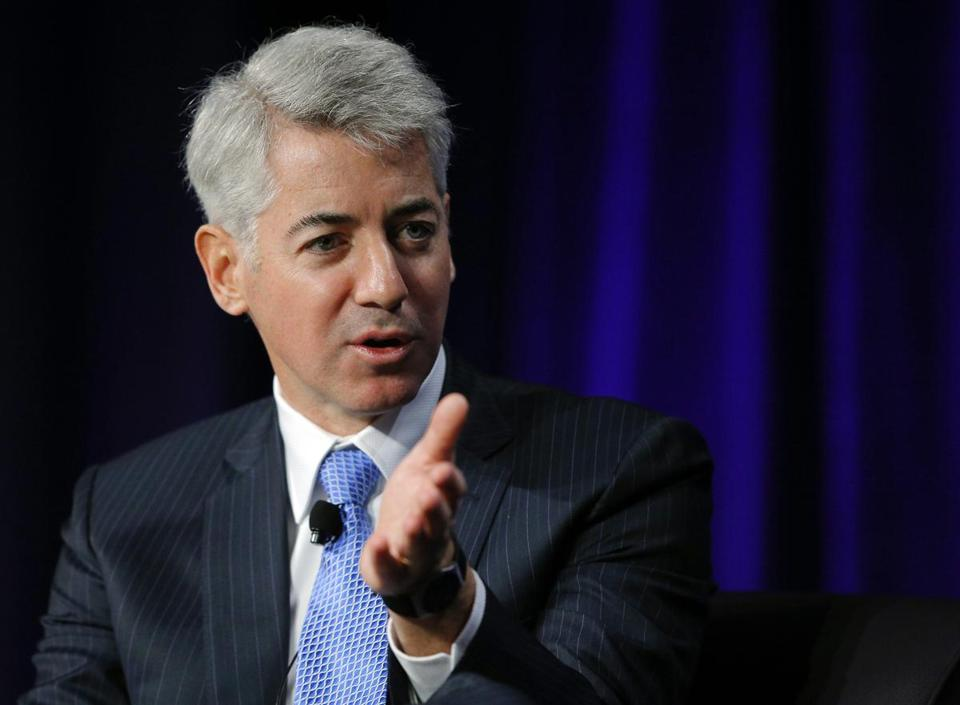 William Ackman's investment in J.C. Penney is valued at $522 million.