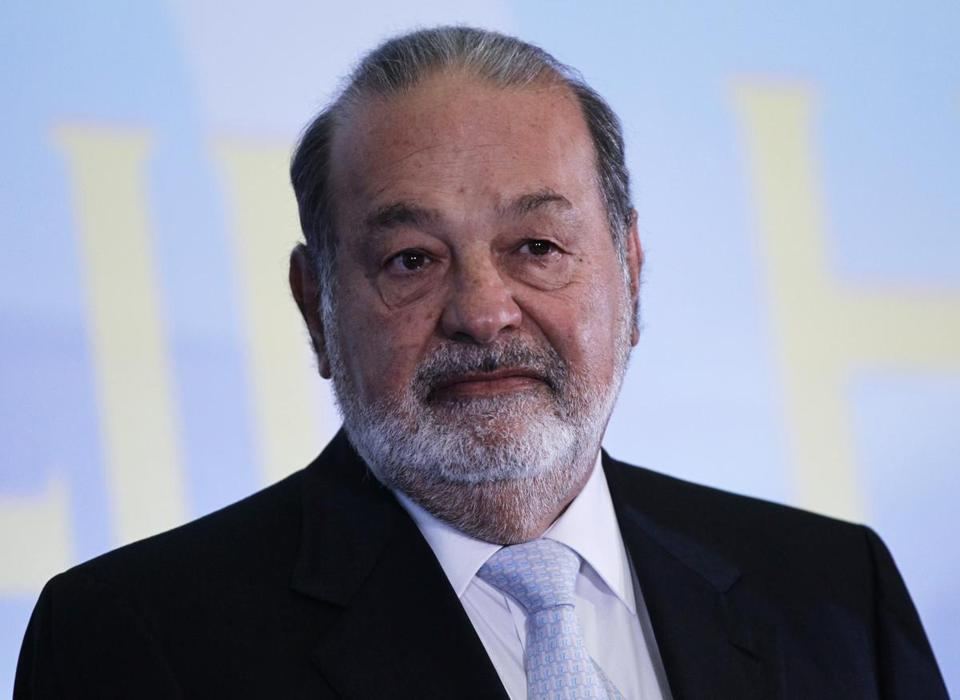 Forbes says Carlos Slim has a fortune that is worth about $73 billion.