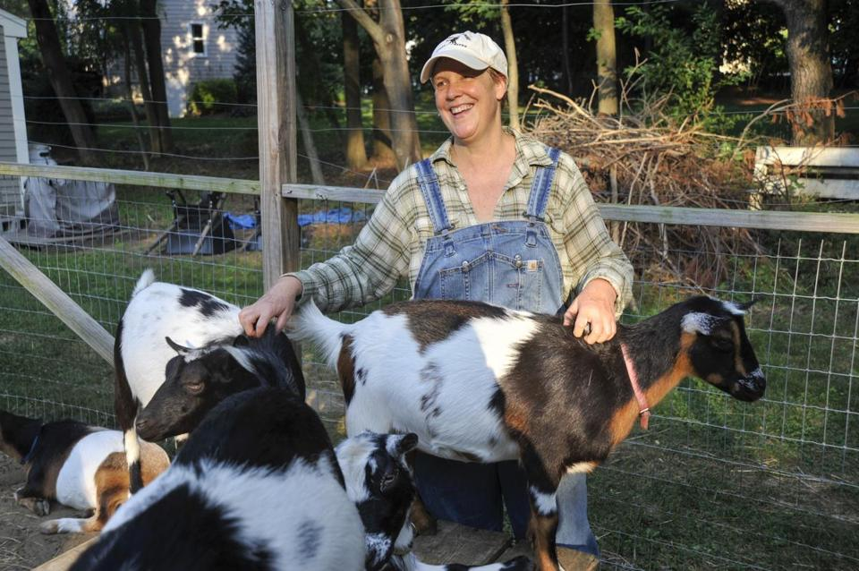 Melissa Hoffer is one of the people involved in the upcoming Farm and Garden Fair in Concord.