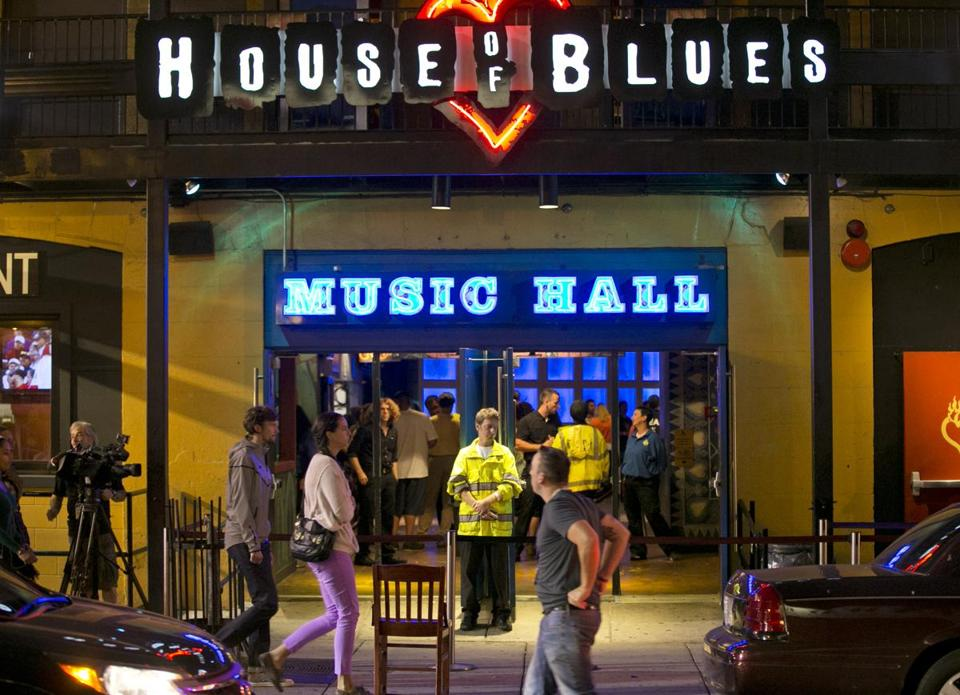 The House of Blues and the Bank of America Pavilion won't face sanctions after a panel said no violations occurred.
