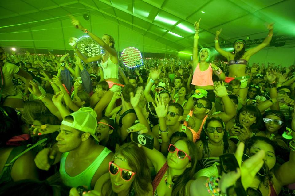 Olivia Rotondo died after attending the Electric Zoo Festival (above)  in New York over the Labor Day Wwekend.