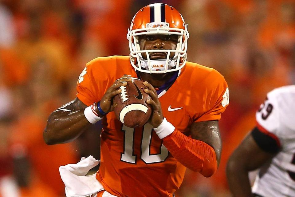 Clemson quarterback Tajh Boyd was nearly unstoppable, throwing for three TDs and running for two more.