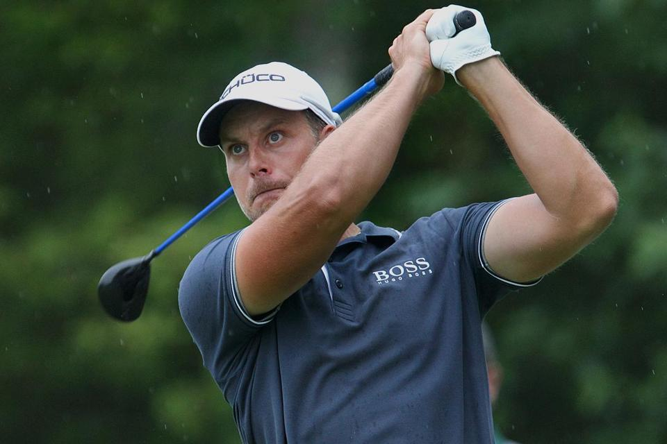 Henrik Stenson, who has quietly put together a stellar season, fired a 63 to earn a share of second.