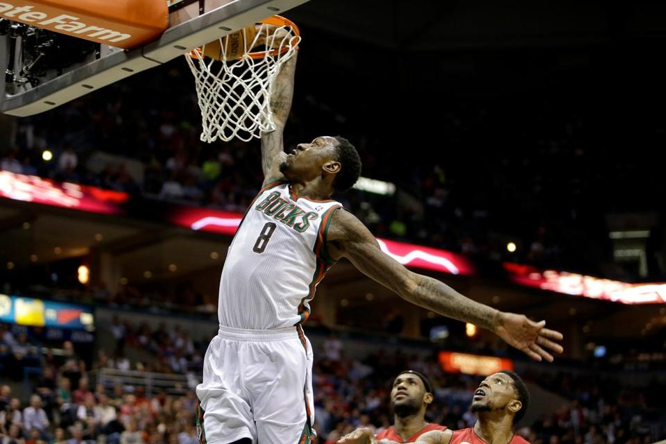 LarrySanders has suddenly become the Bucks' cornerstone after a breakout defensive season.