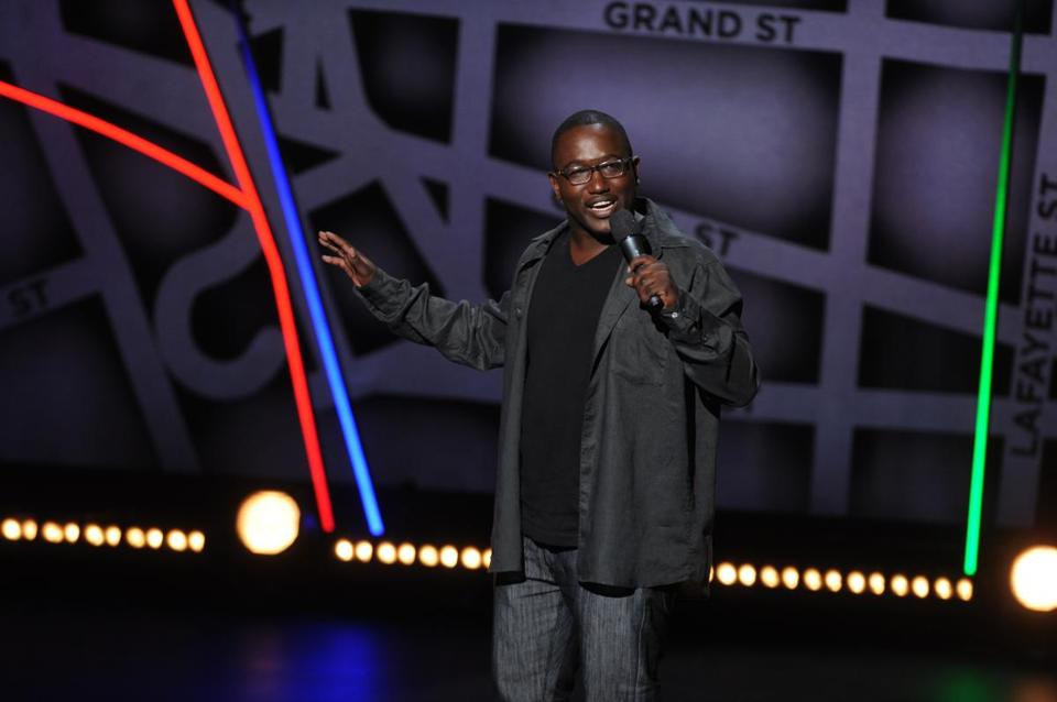 """As I've gotten more comfortable performing, it's just more fun to tell a story and share true experiences,"" says Hannibal Buress about his stand-up act."