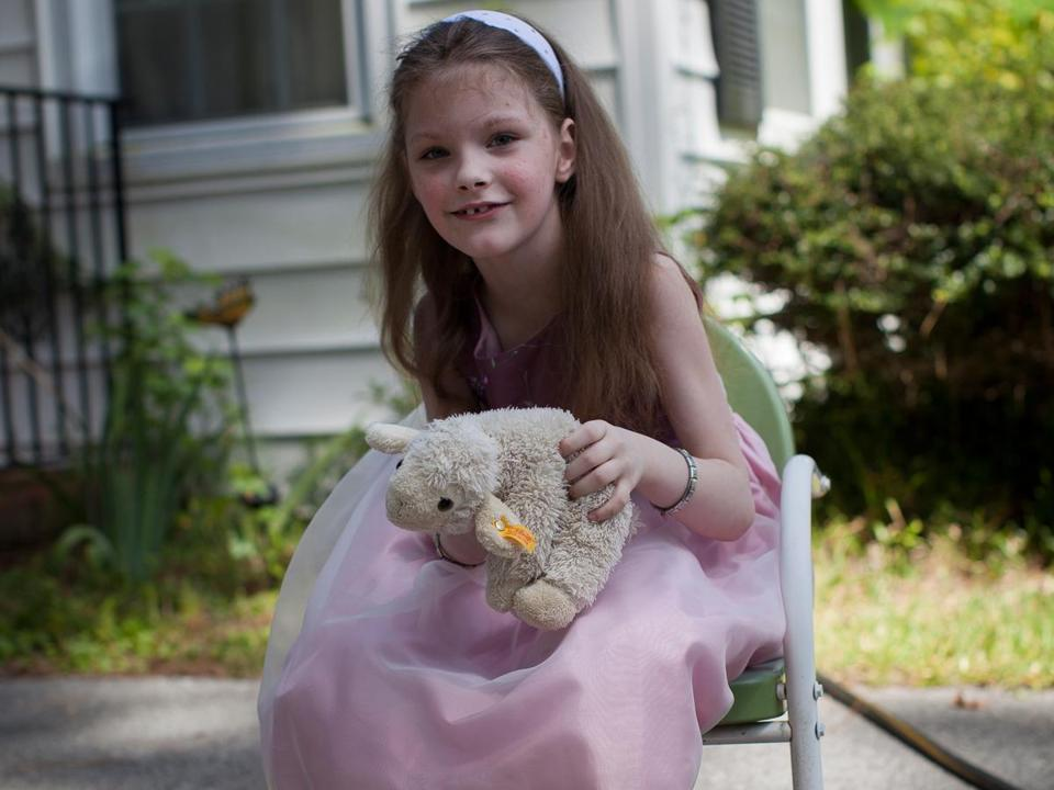 After joining a clinical trial at Boston Children's Hospital, Katie Mills started to speak in complete sentences for the first time.