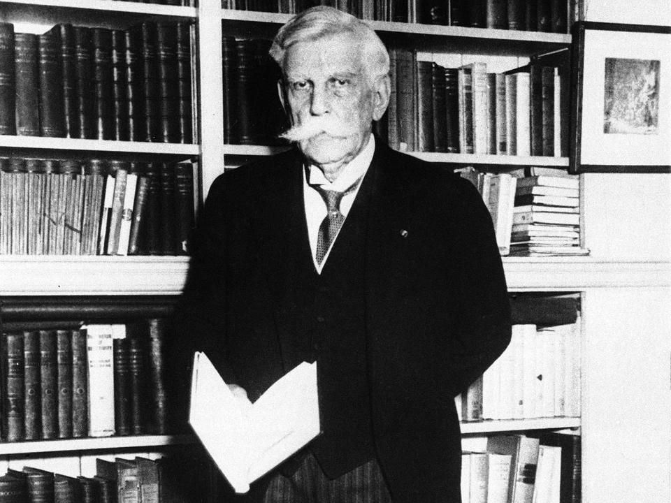 Justice Oliver Wendell Holmes, pictured in 1931, influentially changed his mind over the First Amendment's guarantee of free speech.
