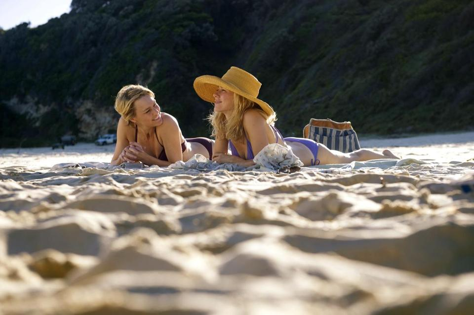 "Robin Wright (left) and Naomi Watts in a scene from ""Adore."""