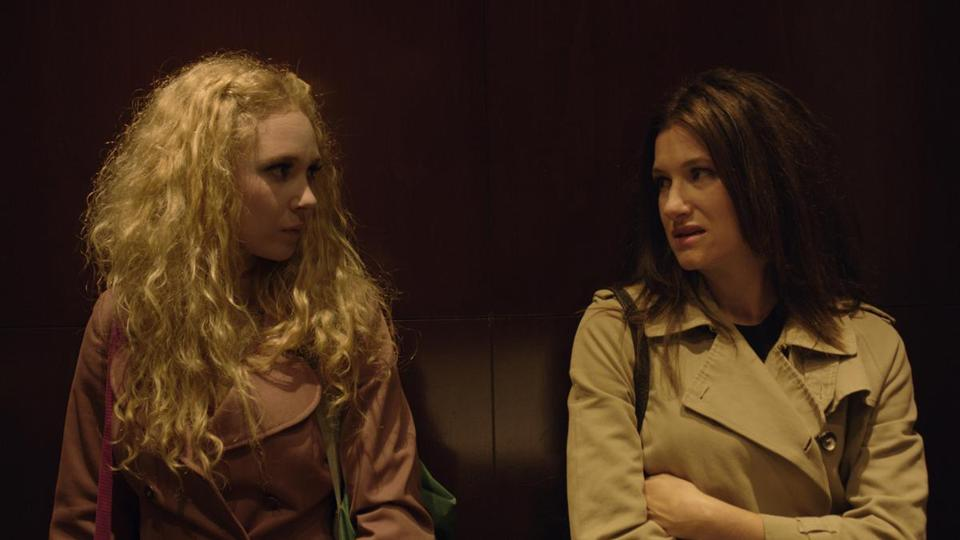 "In ""Afternoon Delight,"" Kathryn Hahn (right) plays a suburban mom who brings a stripper (Juno Temple) into her home."