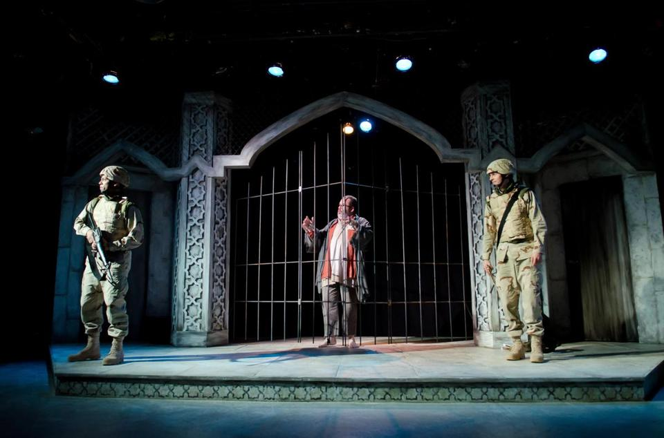 "Company One's production of ""Bengal Tiger at the Baghdad Zoo."""