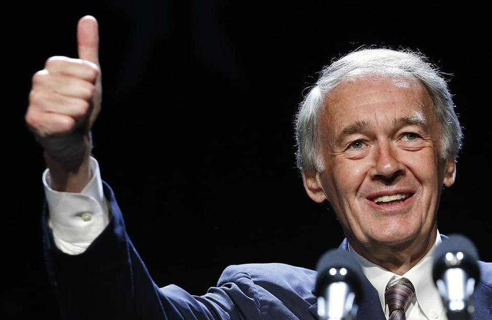 Ten candidates are vying for the US House seat formerly held by Ed Markey (above).