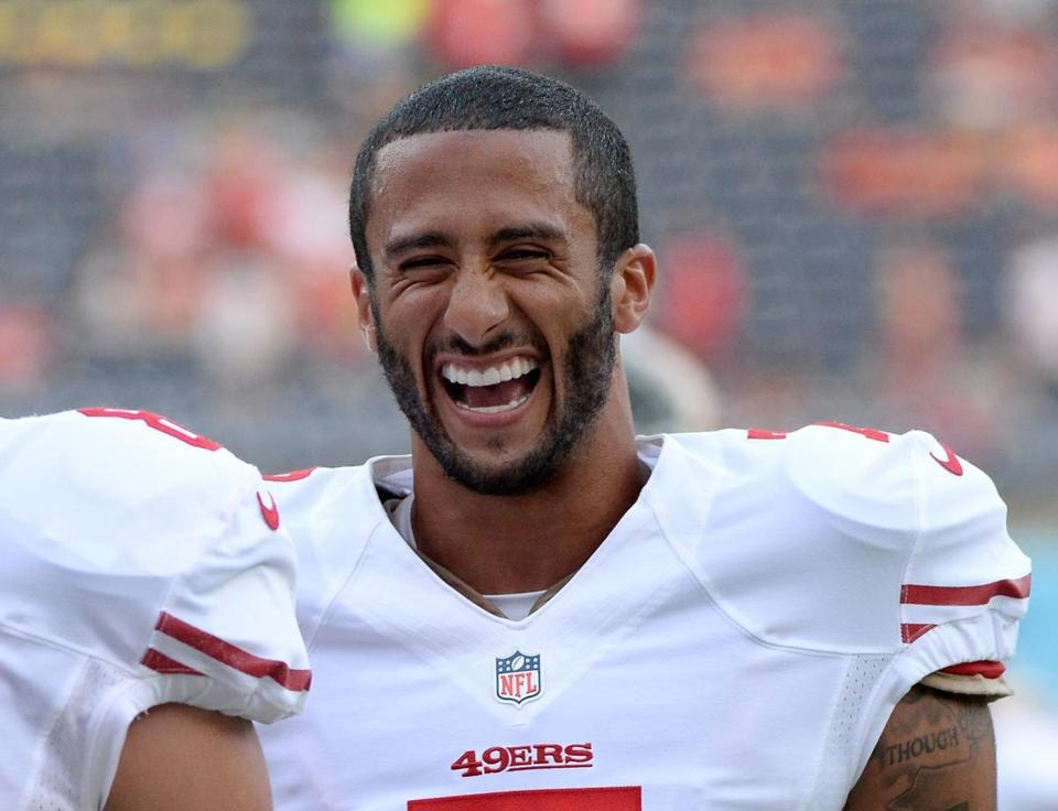 Colin Kaepernick is ready for his first full season as the 49ers' starting quarterback.