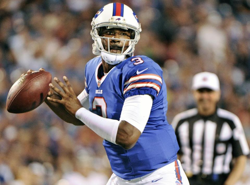 Buffalo Bills quarterback E. J. Manuel.