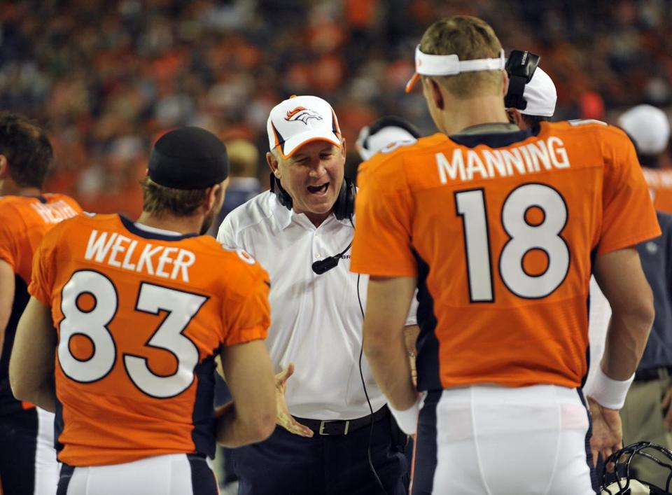Wes Welker  adds a new layer of depth to Peyton Manning's Broncos offense.