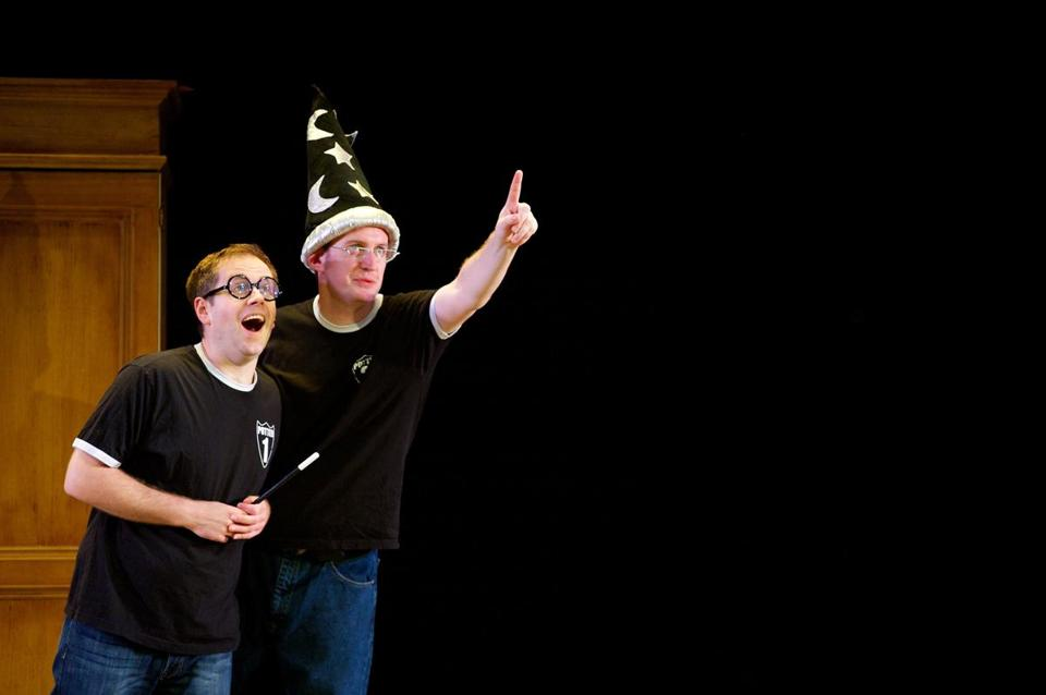 "Jeff Turner (left) and Daniel Clarkson have taken ""Potted Potter"" to the Edinburgh Fringe Festival, London's West End, off-Broadway, and now on tour."