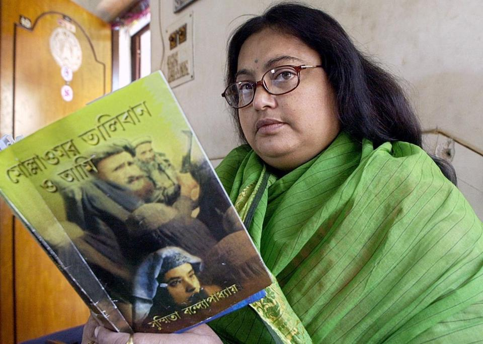 "Sushmita Banerjee wrote ""A Kabuliwala's Bengali Wife,"" which later became the basis for ""Escape from Taliban."""