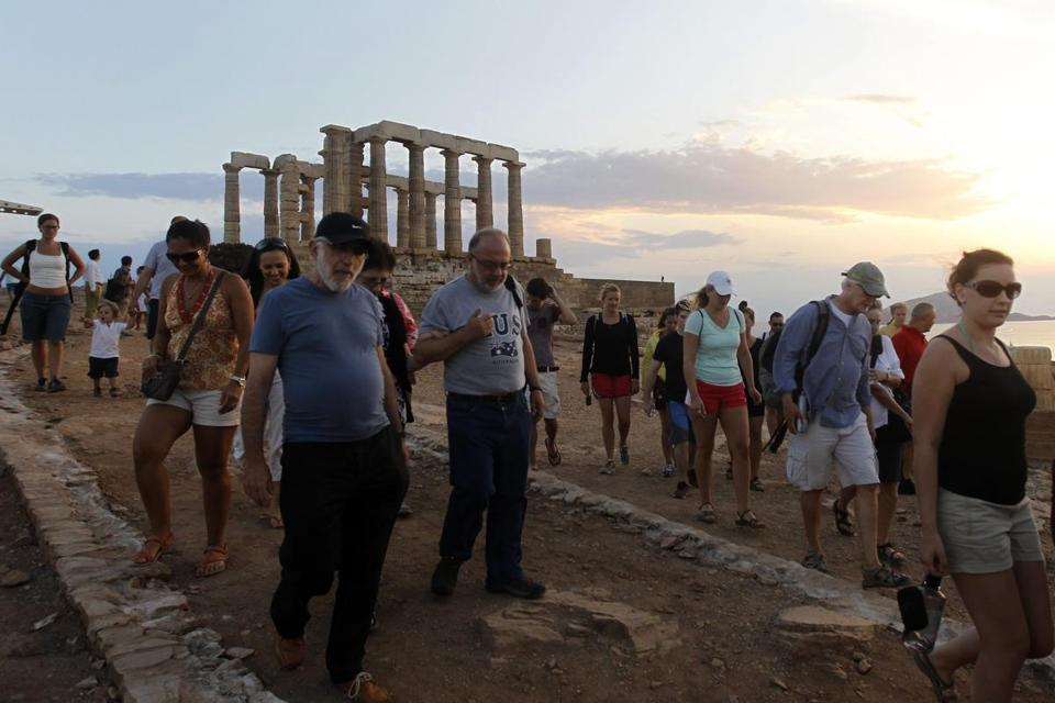 Greek tourism officials expect a record 17 million arrivals this year — up from 16 million in 2012.