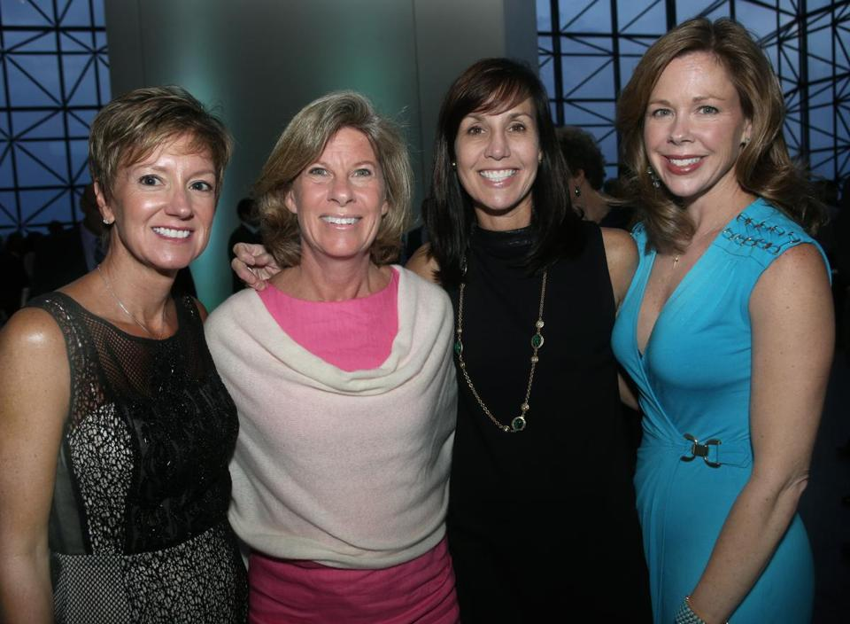 From left: Carla Barlow, Kathi Blair, Connie McNichols, and Lauren Concannon, all from Hingham.