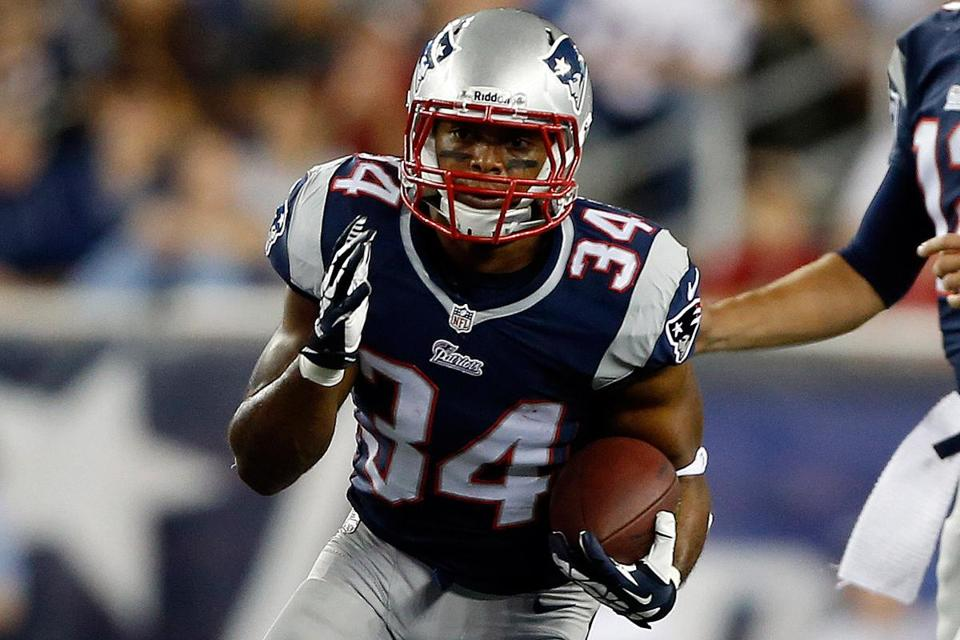 Shane Vereen likely will be moving all over the field from snap to snap.